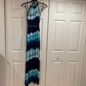 Casual jersey maxi dress